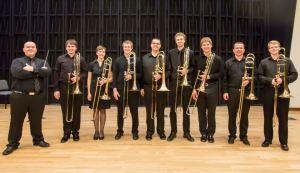iowa trombone octet
